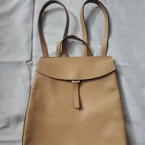 Cute authentic Prada leather backpack